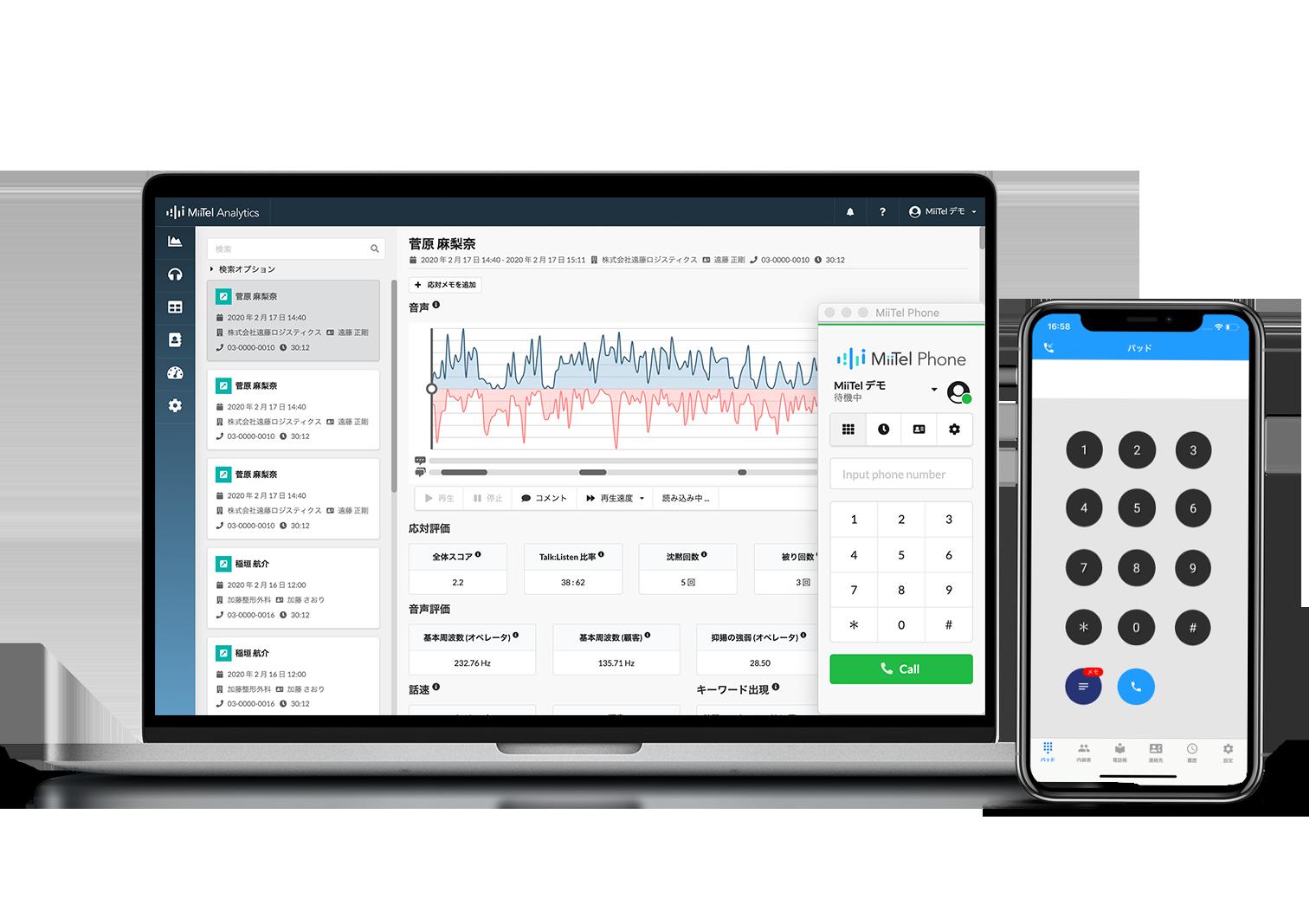 AI搭載クラウド電話MiiTelがHubSpotのSales Hubと連携開始