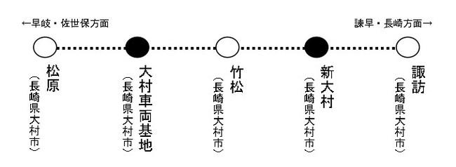 駅名決定!】九州新幹線(武雄温泉・長崎間)及び大村線新駅の駅名 ...