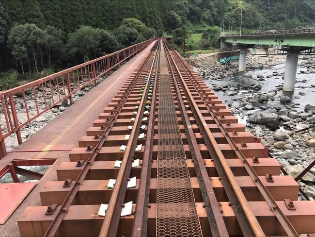 【9月9日時点の状況】線路整備中