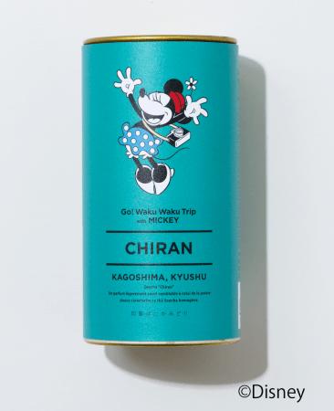 オリジナルデザイン缶知覧茶 1,600円+税 (C)Disney