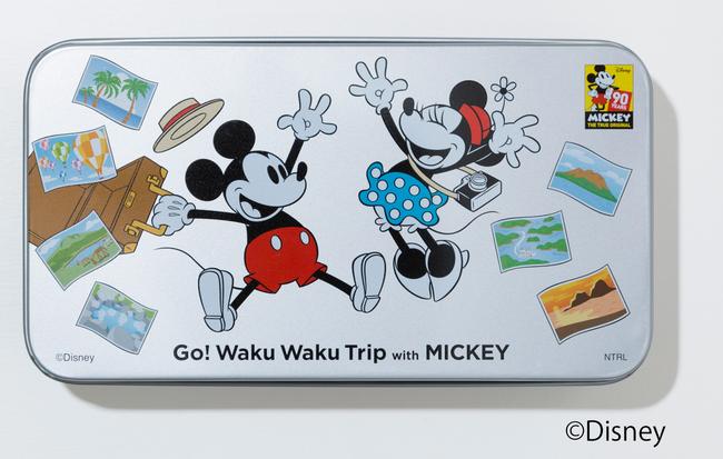 プリントクッキー缶 1,500円+税 (C)Disney