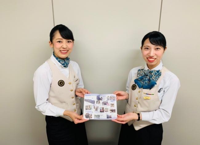 JR九州の客室乗務員が製作