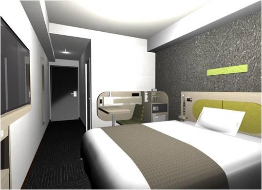 コンフォートホテル高知 1ベッドルーム ※イメージ