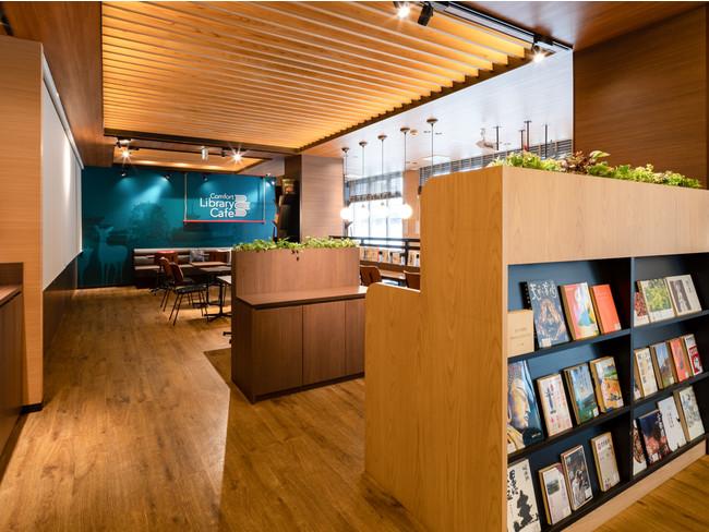 コンフォートホテル奈良 Comfort Library Cafe