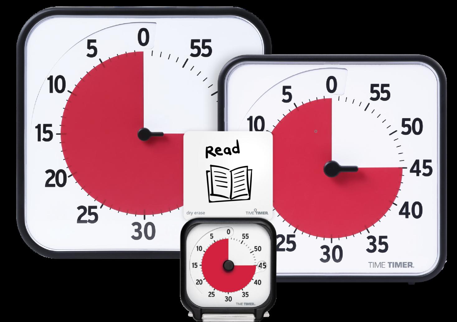 【新発売】時間の経過が一目でわかる 見やすいタイマー、 タイムタイマーオリジナル(Time Timer Original)がさらに使いやすくなってリニューアル新発売!