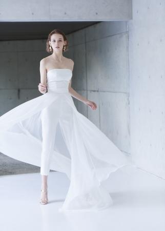 クローゼットスタイル ウエディングドレス