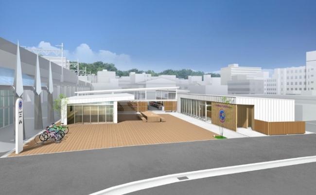 「i.i.imabari! cycle station(アイアイ今治サイクルステーション)」イメージ