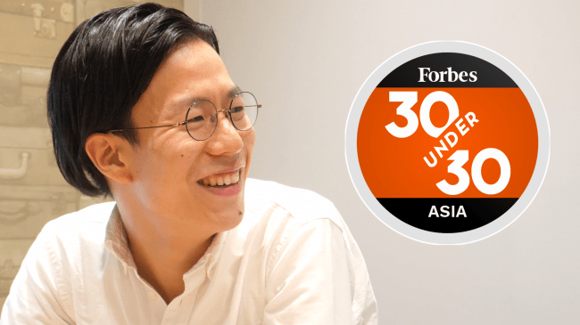 Forbes「アジアを代表する30歳未満の30人 (Forbes 30 Under 30 Asia) 」に、株式会社すむたす 代表取締役 角 高広が選出