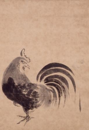 鶏図(東京都江戸東京博物館蔵)※1月2日~1月26日に展示