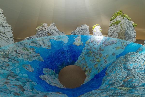 康夏奈《花寿波島の秘密》瀬戸内国際芸術祭2013-2019 photo.Yasushi Ichikawa