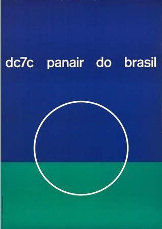 メアリー・ヴィエイラ《パンエア・ド・ブラジル航空 DC7C機/パンエア・ド・ブラジル》 1957年 (C)Isisuf. Istituto internazionale di studi sul futurismo - Archivio Mary Vieira
