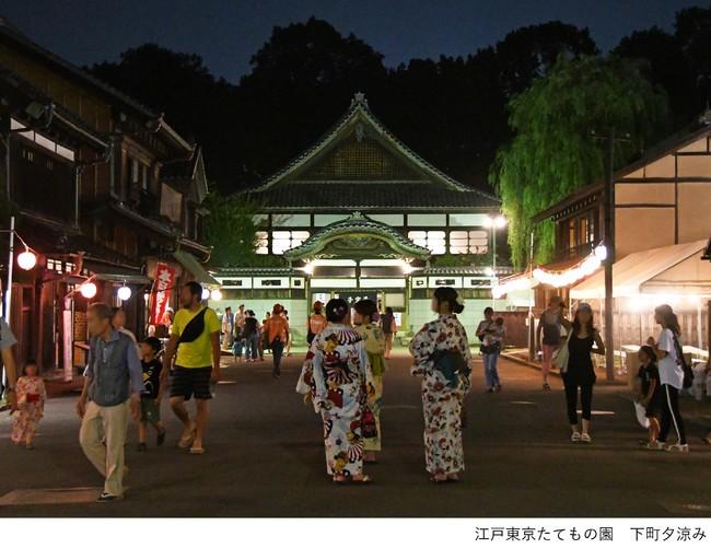 江戸東京たてもの園 下町夕涼み