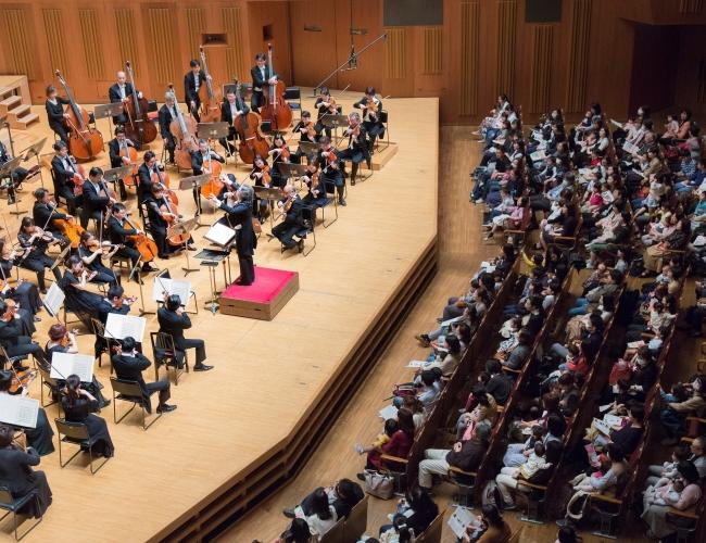 2018年度「0才から聴こう!! 春休みオーケストラコンサート」(c)Hikaru.☆