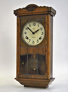 柱時計(Made in Ocupied Japan) 栄計舎/製造 昭和20年代