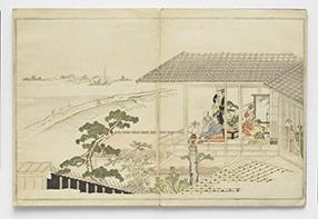 狂月坊  喜多川歌麿/画 蔦屋重三郎/版  1789年(寛政元) 頁替あり