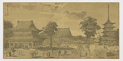 大日本金龍山之図  亜欧堂田善/画  1804~1818年(文化年間)頃