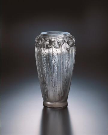 シール・ペルデュ花瓶《ユーカリ》1923年、北澤美術館蔵、撮影:清水哲郎