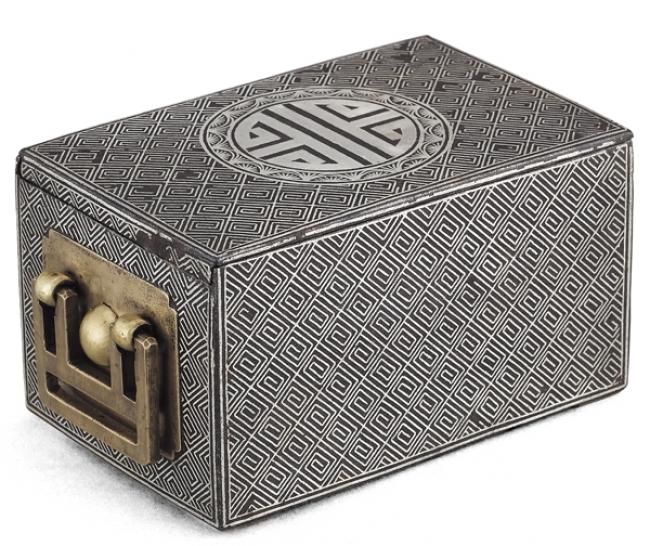 煙草を保管する箱 煙草盆 朝鮮後期(1592-1863) ソウル歴史博物館蔵