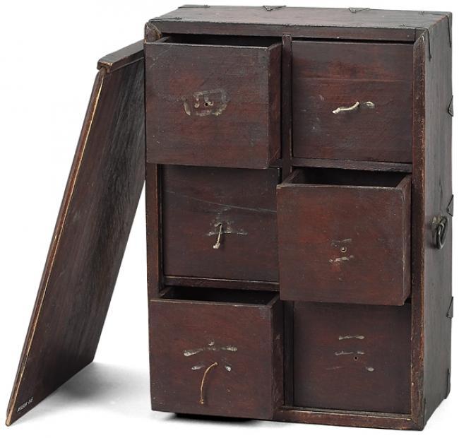 薬を保管する携帯用の薬箱 携帯用薬箱 朝鮮後期(1592-1863) ソウル歴史博物館蔵