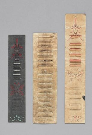 読んだ本の回数を数える道具 書算 朝鮮後期~末期(1592-1897) ソウル歴史博物館蔵