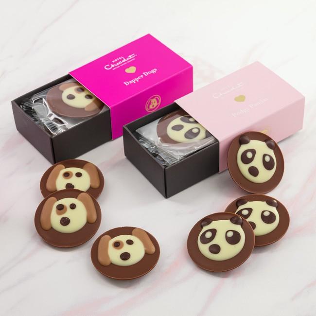 左:ダッパードッグ、右:ポジ―パンダ 各¥700(税込)
