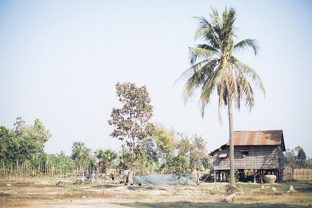 工房のあるクチャ村