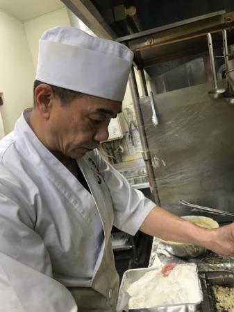 西野 昌道料理長