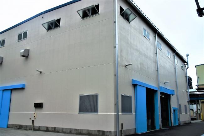 新工場の建屋