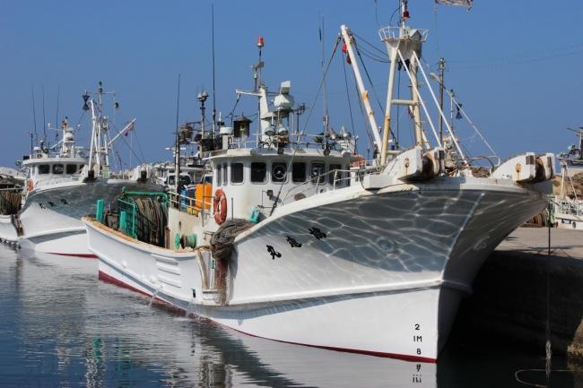 間人の漁船