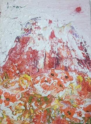 安食洋「赤富士」