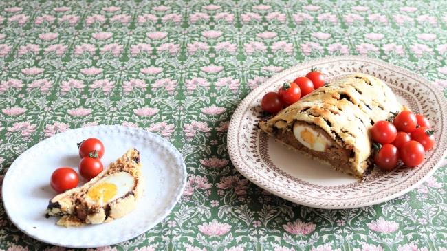 パイ生地から作る簡単復活祭のパテ