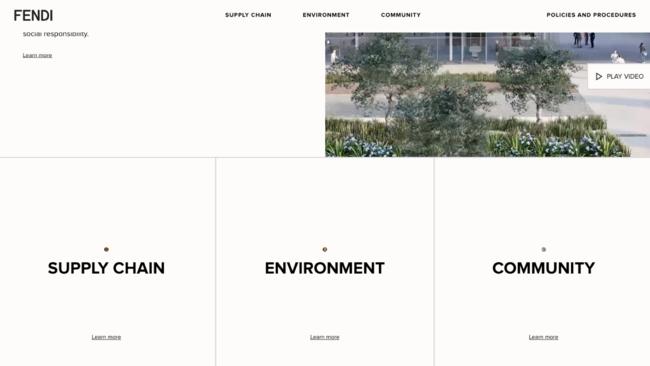 fendi.comsustainability