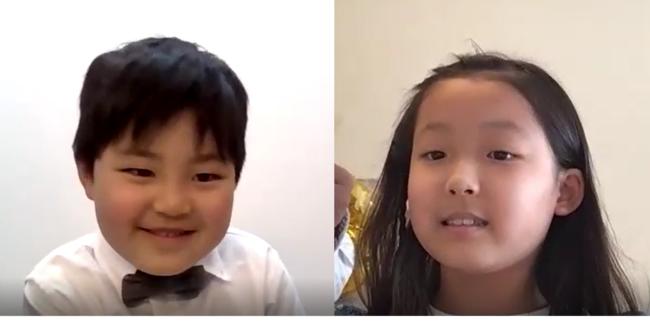 ひびとくん(5歳)とはるさん(8歳)