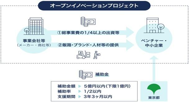 東京都「未来を拓くイノベーションTOKYOプロジェクト」Webサイトより引用
