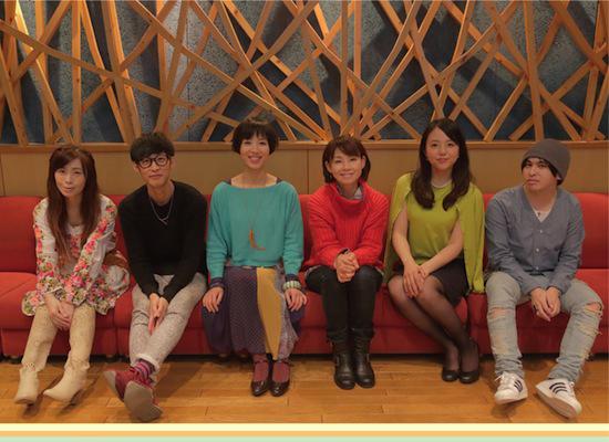 左から、中川奈美さん、大石昌良さん、花れんさん、土居裕子さん、萩森花菜さん、工藤圭一さん。