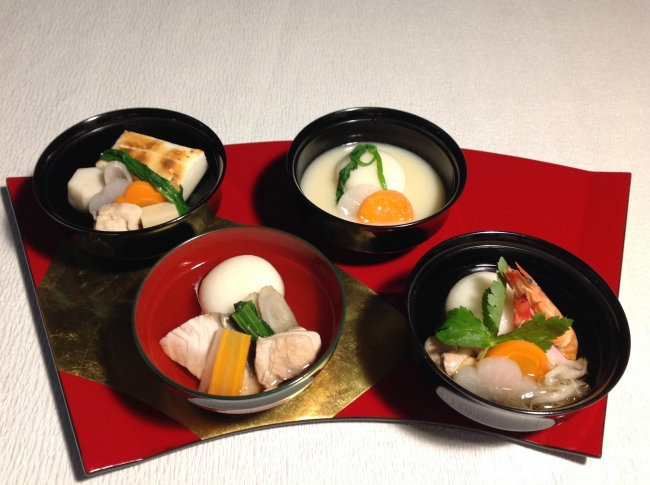 昨年度の「日本各地のご当地お雑煮」
