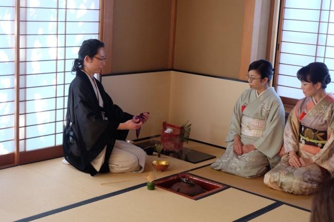 「茶道体験」イメージ