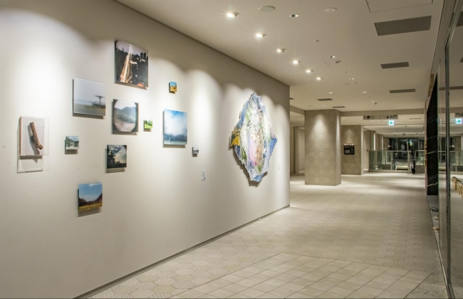 The Chain Museum × NEWoMan YOKOHAMA:2F Wall Street Museum展示風景