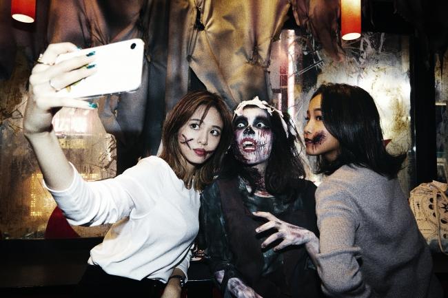 22日にはゾンビ姿でGHOST WHOPPER®を楽しむパーティーも開催された。