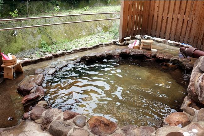 敷地内にある温泉