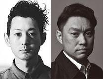 デザイン・西村ひろあき氏(左)/切子監修・三代秀石 堀口徹氏(右)