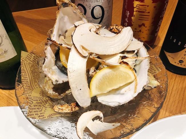 かけ放題にオススメ】生牡蠣レモン絞り 390円(税別)