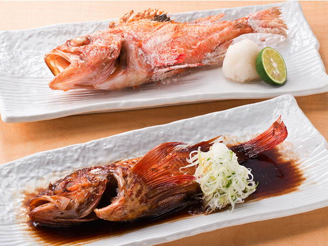 丸々一本 道産きんき(塩焼きor煮つけ)1,680円(税別)