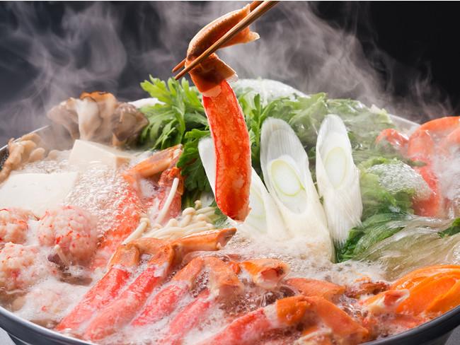あったか「蟹すき鍋」