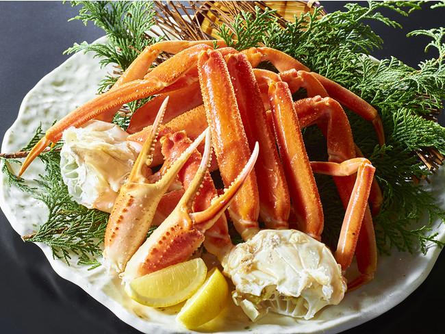シンプルに旨い「ゆで蟹」