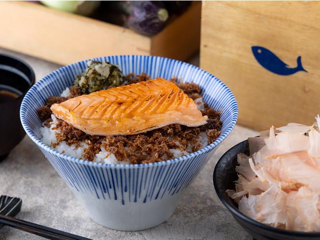 鮭ハラス おかかご飯 1,000円