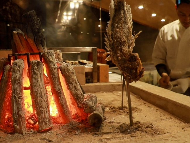 原始炉端焼き