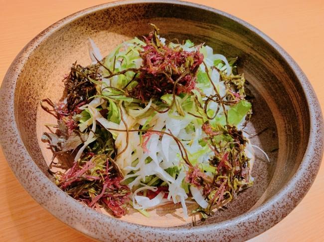 伊勢志摩産海藻ポン酢