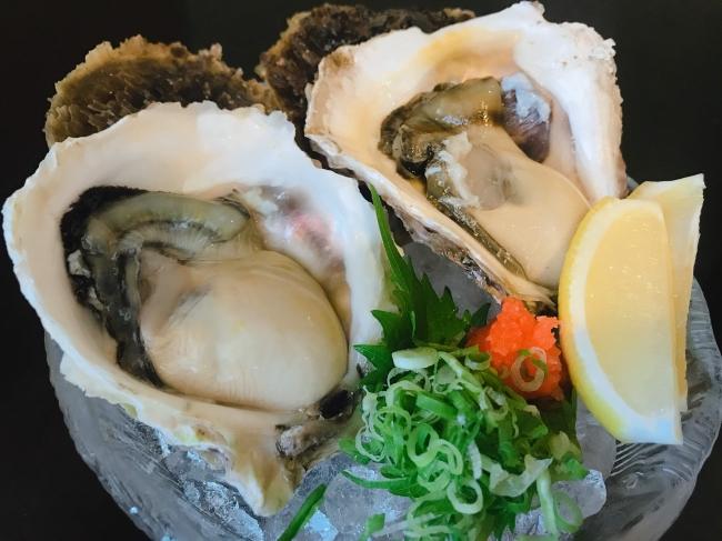 ぷりぷり!身の大きい岩牡蠣