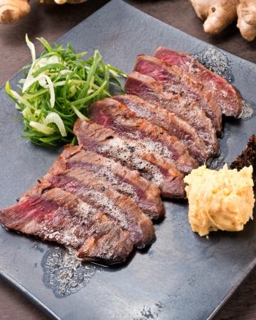 牛リブロースの西京ステーキ
